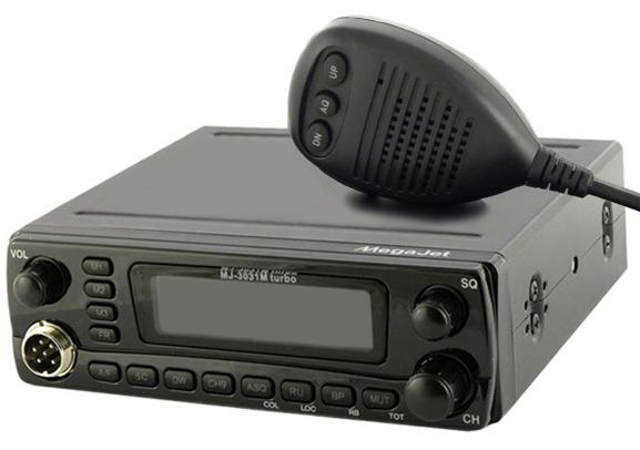 Радиостанция megajet mj-3031m turbo купить в салоне антенна.